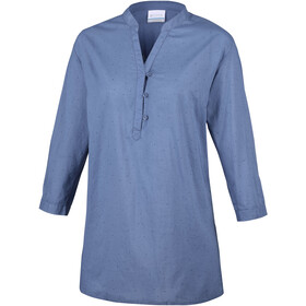 Columbia Early Tide Tunic Naiset, blue dusk dots